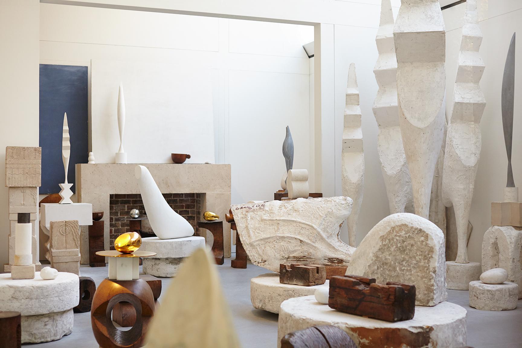 Constantin Brancusi , Artist studio visit, I