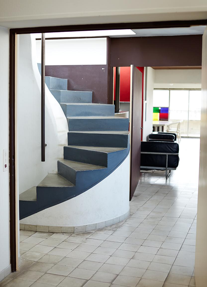 Le Corbusier home residency studio